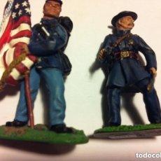 Juguetes Antiguos: AMERICAN CIVIL WAR -69TH-PENNSYLVANIA - AÑO 1998 - LOTE DE 2 FIGURAS CON SU CAJA ORIGINAL (BRITAIN). Lote 175854554
