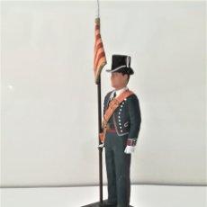 Juguetes Antiguos: MOSSOS D'ESQUADRA,FIGURA ABANDERADO,UNIFORME DE GALA,ESCOLA DE POLICIA DE CATALUNYA,AÑOS 80,CATALUÑA. Lote 176177938