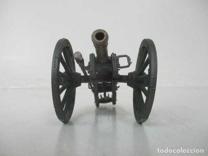 Juguetes Antiguos: Cañón Miniatura Napoleónico - Soldados de Plomo - Foto 2 - 176633172