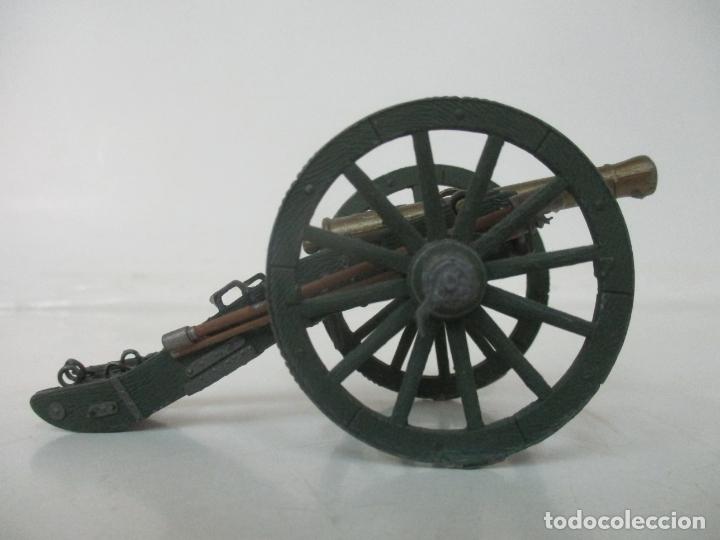 Juguetes Antiguos: Cañón Miniatura Napoleónico - Soldados de Plomo - Foto 4 - 176633172