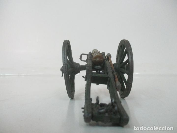 Juguetes Antiguos: Cañón Miniatura Napoleónico - Soldados de Plomo - Foto 5 - 176633172