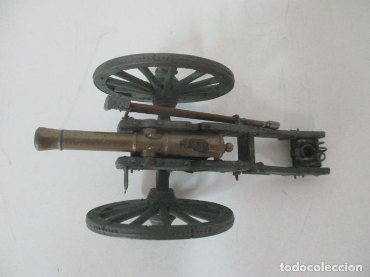 Juguetes Antiguos: Cañón Miniatura Napoleónico - Soldados de Plomo - Foto 6 - 176633172
