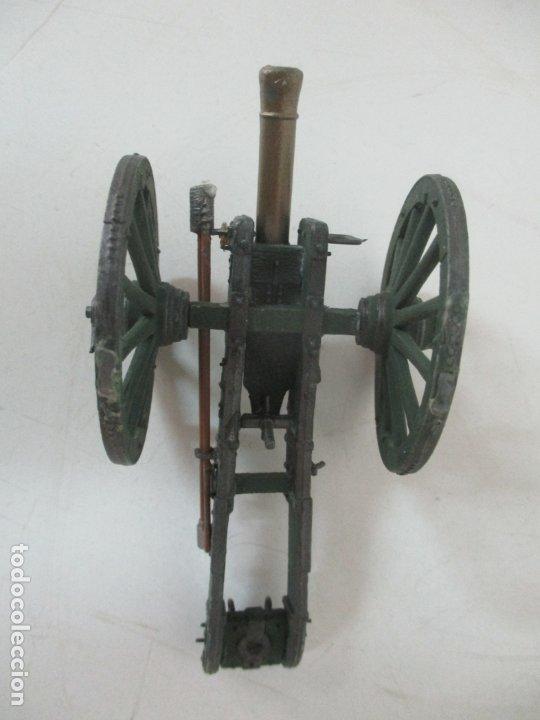 Juguetes Antiguos: Cañón Miniatura Napoleónico - Soldados de Plomo - Foto 7 - 176633172