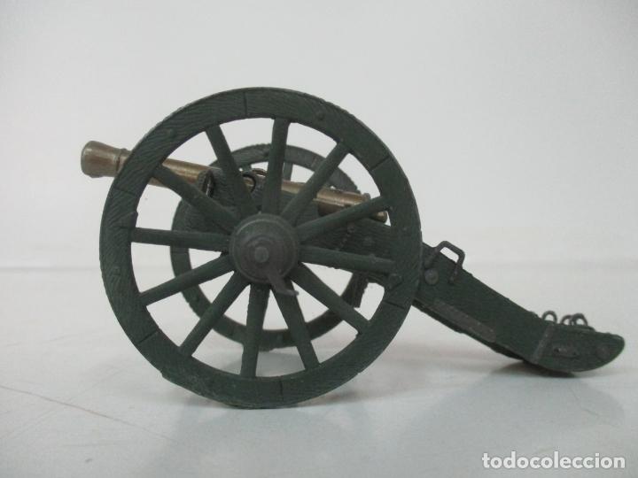 Juguetes Antiguos: Cañón Miniatura Napoleónico - Soldados de Plomo - Foto 8 - 176633172