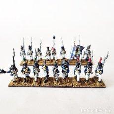 Juguetes Antiguos: 18 FIGURAS - 15 MM LEGION DEL VISTULA - SOLDADITOS DE PLOMO - 15MM - NAPOLEONICOS - POLACOS. Lote 176856732