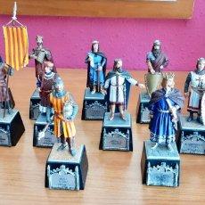 Juguetes Antiguos: COLECCION COMPLETA QUIZAS UNICA 16 PIEZAS CONDES DE BARCELONA COLECCION Nº 154 NUMERADA. Lote 178342558