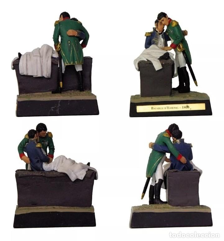 Juguetes Antiguos: Diorama de Napoleón y el Mariscal Lannes, Batalla de Essling,1809 - Plomo. A estrenar. - Foto 2 - 233502195