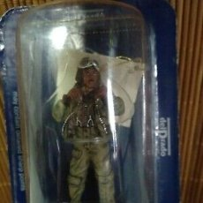 Juguetes Antiguos: PILOTO USA II GUERRA MUNDIAL: FIGHTER PILOT, US ARMY AIR, ITALY, 1944, 1:30, DEL PRADO. Lote 183032203