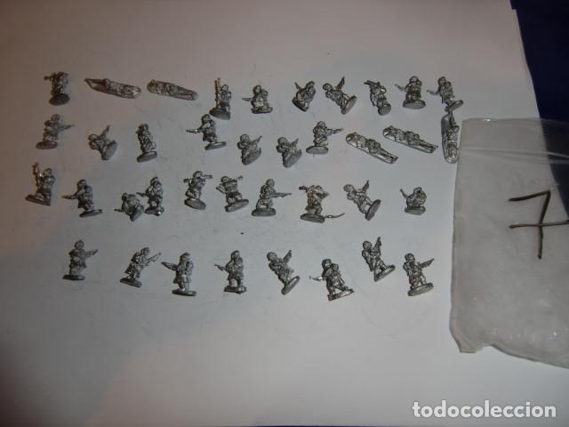 Juguetes Antiguos: lote figuras en plomo soldados - fijense en las fotos - Foto 2 - 183367545