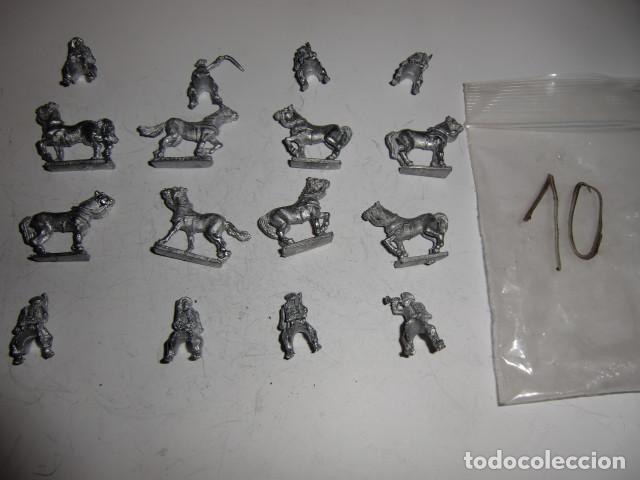 Juguetes Antiguos: lote figuras en plomo soldados - fijense en las fotos - Foto 2 - 183367610