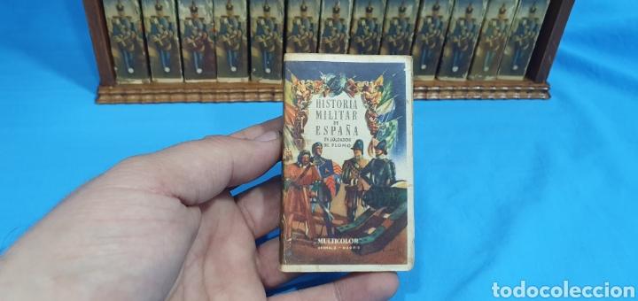 Juguetes Antiguos: Historia militar de España en soldaditos de plomo. capell, casanellas , multicolor , años 50 - Foto 5 - 165267886