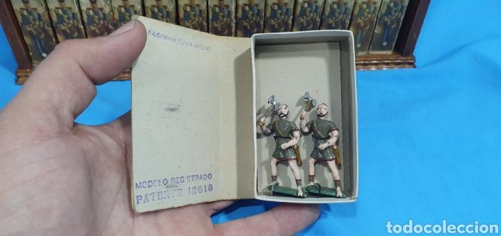 Juguetes Antiguos: Historia militar de España en soldaditos de plomo. capell, casanellas , multicolor , años 50 - Foto 7 - 165267886