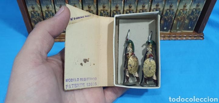 Juguetes Antiguos: Historia militar de España en soldaditos de plomo. capell, casanellas , multicolor , años 50 - Foto 12 - 165267886