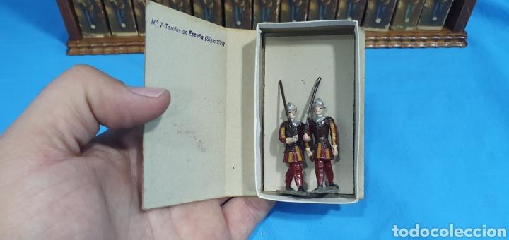 Juguetes Antiguos: Historia militar de España en soldaditos de plomo. capell, casanellas , multicolor , años 50 - Foto 13 - 165267886