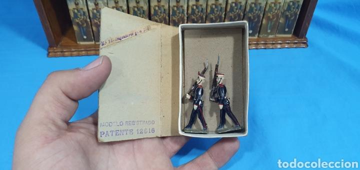 Juguetes Antiguos: Historia militar de España en soldaditos de plomo. capell, casanellas , multicolor , años 50 - Foto 20 - 165267886