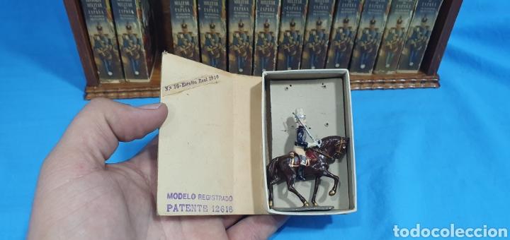 Juguetes Antiguos: Historia militar de España en soldaditos de plomo. capell, casanellas , multicolor , años 50 - Foto 22 - 165267886