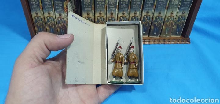 Juguetes Antiguos: Historia militar de España en soldaditos de plomo. capell, casanellas , multicolor , años 50 - Foto 23 - 165267886