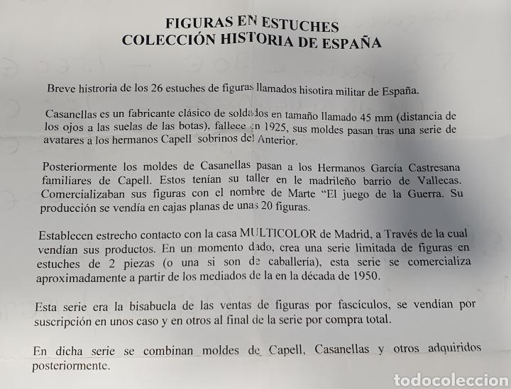 Juguetes Antiguos: Historia militar de España en soldaditos de plomo. capell, casanellas , multicolor , años 50 - Foto 33 - 165267886