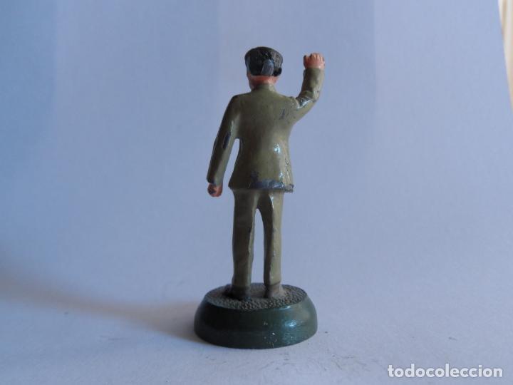 Juguetes Antiguos: personaje historico mao zedong - mao tse tung soldado de plomo - soldadito de plomo m & s 11.09.V - Foto 3 - 186066040