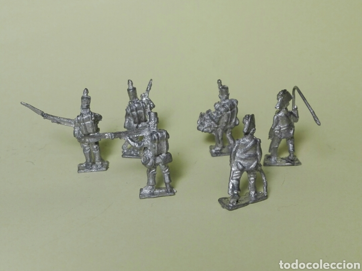 Juguetes Antiguos: Soldados de plomo franceses Napoleón - Foto 2 - 187197968