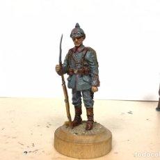 Juguetes Antiguos: SOLDADO METAL PRIMERA GUERRA MUNDIAL ALEMAN PRUSIANO ALYMER CONTE KING COUNTRY ANDREA SOLDAT BRITA. Lote 187469552