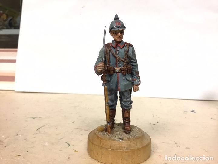Juguetes Antiguos: SOLDADO METAL PRIMERA GUERRA MUNDIAL ALEMAN PRUSIANO ALYMER CONTE KING COUNTRY ANDREA SOLDAT BRITA - Foto 5 - 187469552