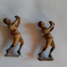 Juguetes Antiguos: FIGURA DE PLOMO AÑOS 50 SOLDADOS DE PLOMO ARTICULADOS AÑOS 50. Lote 187504858