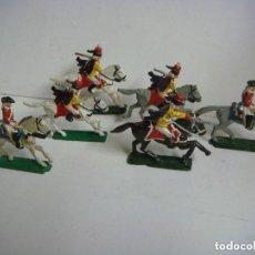 Juguetes Antiguos: SOLDADOS DE PLOMO NAPOLEONICOS ANTIGUOS LOTE DE 6 SOLDADOS LOTE Nº-3. Lote 189377782