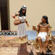 Juguetes Antiguos: KING & COUNTRY -ANCIENT EGYPTIANS- BANQUET GUESTS SET 2 AE022 (DESCATALOGADO) -EGIPTO-. Lote 189992270