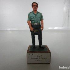 Juguetes Antiguos: SOLDADOS DE PLOMO -GUARDIA CIVIL, CABO UNIFORME DE VERANO 1989 -VICENTE JULIÁ CHAUVE. Lote 190190770