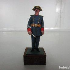 Juguetes Antiguos: SOLDADOS DE PLOMO -GUARDIA CIVIL, UNIFORME GALA EN FORMACIÓN, AZUL 1975 - VICENTE JULIÁ CHAUVE. Lote 190191320