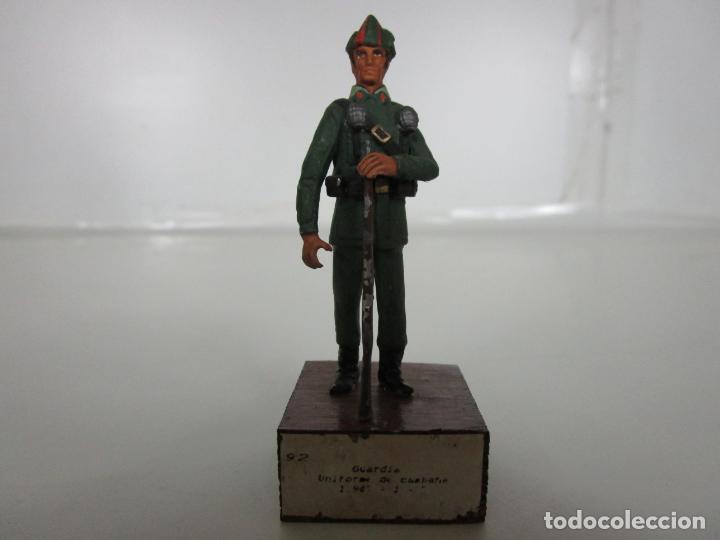 SOLDADOS DE PLOMO -GUARDIA CIVIL, GUARDIA UNIFORME DE CAMPAÑA 1943-75 -VICENTE JULIÁ CHAUVE (Juguetes - Soldaditos - Soldaditos de plomo)