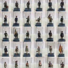 Jeux Anciens: COLECCION 30 SOLDADOS DE PLOMO DE ESPAÑA 5-6 CMS ALYMER. Lote 206292680