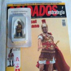 Juguetes Antiguos: SOLDADOS Y ESTRATEGIA - GUERRERO ALMOGÁVER Y REVISTA Nº.6. Lote 193426260