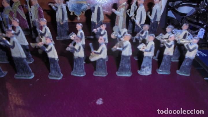Juguetes Antiguos: ANTIGUA PROCESION DE MONTSERRAT S.XIX EN FIGURAS DE PLOMO 39 FIGURAS , LA MAYORIA EN BUEN ESTADO VER - Foto 7 - 193566043