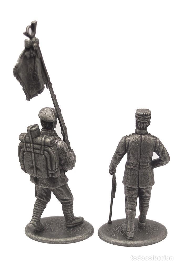 Juguetes Antiguos: Set de Figuras en Plomo, GENERAL GORAUD Y CAZADOR ALPINO, 1:24, COLECCIÓN 1914-18 - Foto 2 - 193624017