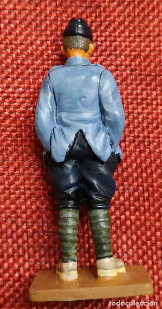 Juguetes Antiguos: Capitan Nieuport Ace Francia 1916 - SOLDADOS DEL SIGLO XX - DEL PRADO - ESCALA 1/32 - Foto 2 - 194217256