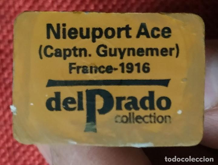 Juguetes Antiguos: Capitan Nieuport Ace Francia 1916 - SOLDADOS DEL SIGLO XX - DEL PRADO - ESCALA 1/32 - Foto 3 - 194217256