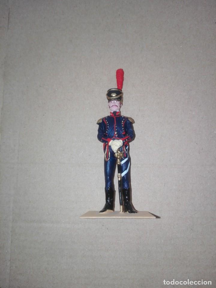 Juguetes Antiguos: SOLDAT ESPAÑA 1808 OFICIAL ARTILLERIA A CABALLO sin peana - Foto 4 - 194514512