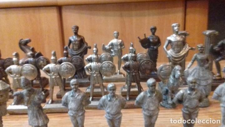 Juguetes Antiguos: Impresionante lote de 59 figuras de plomo sigloxix y sigloxx. Soldaditos de plomo - Foto 8 - 194535031