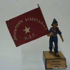 Juguetes Antiguos: SOLDADO DE PLOMO MILICIAS SOCIALISTAS 1936.ALMIRALL.. Lote 195224603