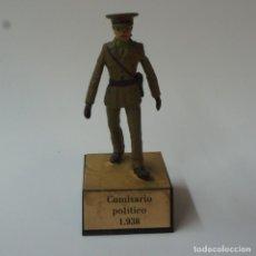Juguetes Antiguos: SOLDADO DE PLOMO COMISARIO POLÍTICO 1938 - ALMIRALL.. Lote 195323607