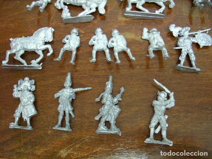 Juguetes Antiguos: Grupo Soldados plomo, sin pintar (nuevos). - Foto 2 - 195365651