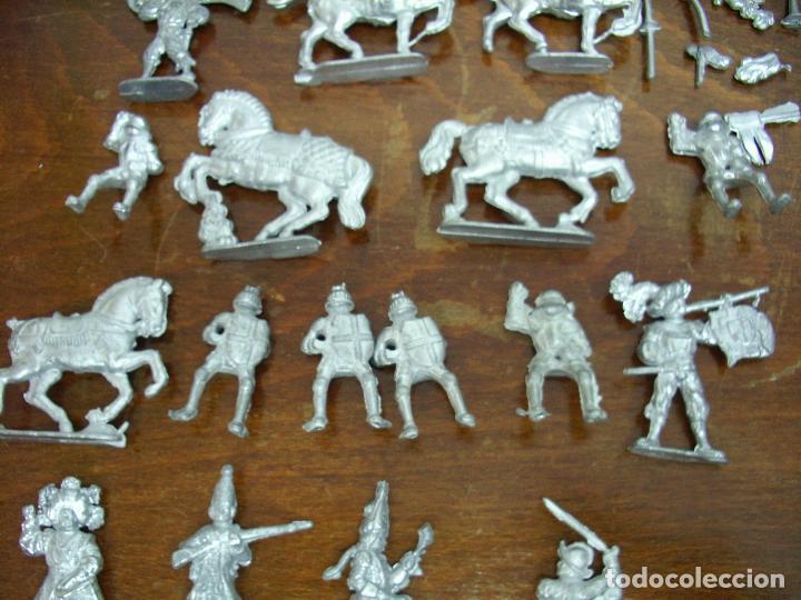 Juguetes Antiguos: Grupo Soldados plomo, sin pintar (nuevos). - Foto 3 - 195365651