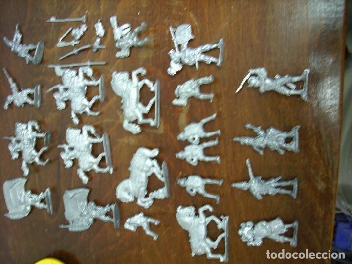 Juguetes Antiguos: Grupo Soldados plomo, sin pintar (nuevos). - Foto 4 - 195365651