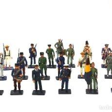 Juguetes Antiguos: LOTE DE ALYMER 21 SOLDADOS DE ESPAÑA AÑO 1973.. Lote 195392071