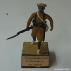 Juguetes Antiguos: SOLDADO DE PLOMO TROPAS REGULARES DE MARRUECOS.. Lote 195493703