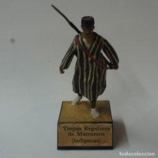 Juguetes Antiguos: SOLDADO DE PLOMO TROPAS REGULARES DE MARRUECOS - ALMIRALL.. Lote 195494037