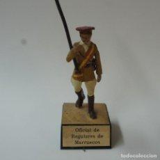 Juguetes Antiguos: SOLDADO DE PLOMO TROPAS REGULARES DE MARRUECOS - ALMIRALL.. Lote 195494243