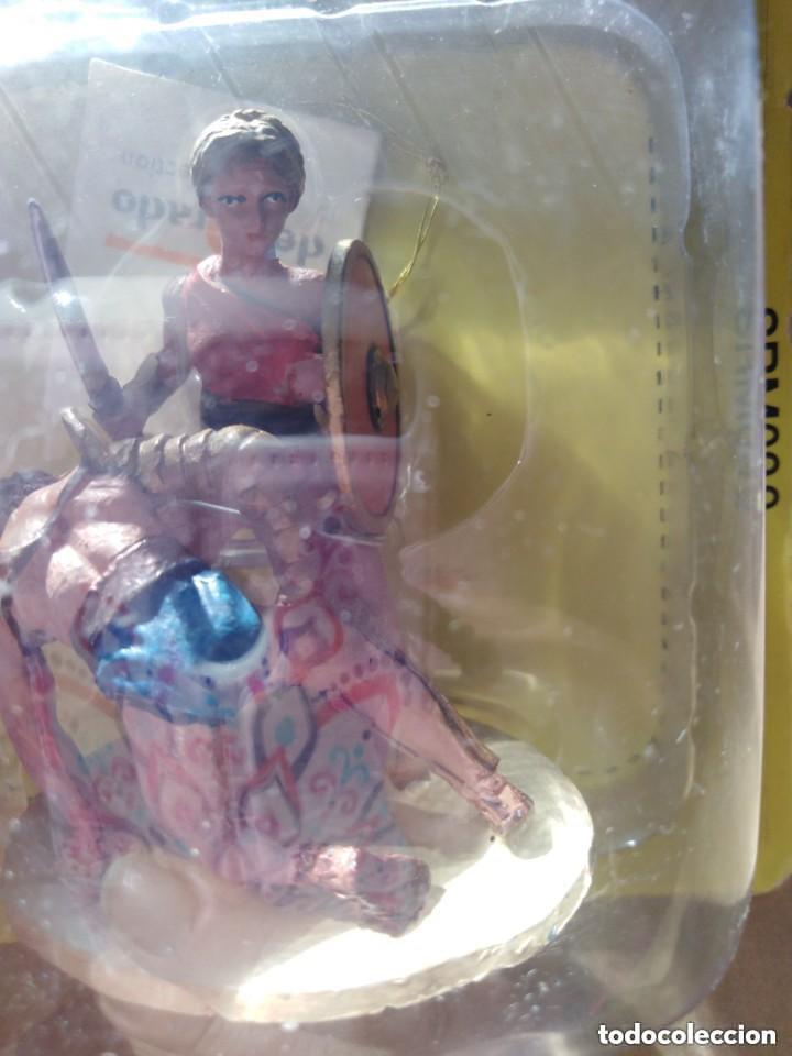 Juguetes Antiguos: Guerrera diorama - Foto 2 - 197276195